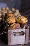 Muffin för Fetaost Royaltyfri Fotografi