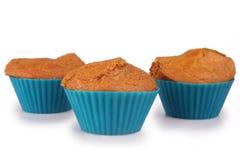 Muffin för morotkaka Royaltyfri Bild