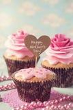 Muffin för mors dag royaltyfri bild