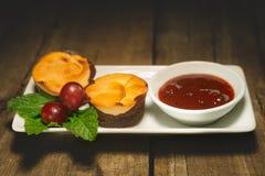 Muffin för söt choklad för ostmassa Royaltyfri Fotografi