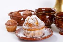 Muffin freschi Immagini Stock
