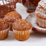Muffin freschi Immagine Stock