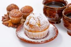 Muffin freschi Fotografia Stock Libera da Diritti
