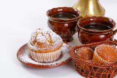 Muffin freschi Immagine Stock Libera da Diritti