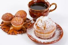 Muffin freschi Fotografia Stock