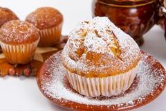 Muffin freschi Fotografie Stock