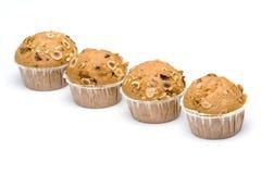 muffin fyra Royaltyfria Bilder