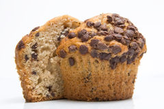 Muffin half Royalty Free Stock Images