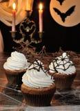 Muffin Halloween Stockfoto