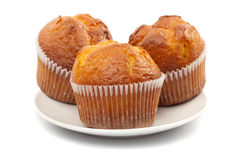 Muffin isolated royalty free stock photos