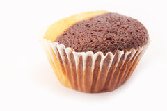 Muffin isolated Close-up Royalty Free Stock Images