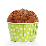 Muffin isolated on white Stock Images