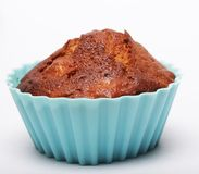 Muffin isolated on white royalty free stock photography