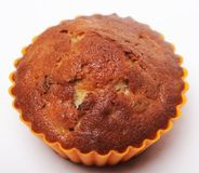 Muffin isolated on white royalty free stock images