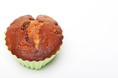 Muffin isolated on white stock photos