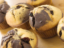 Muffin in the kitchen Royalty Free Stock Images