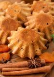 Muffin med kryddor Arkivfoton