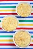 Muffin med sesam Royaltyfria Foton