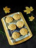 Muffin med streusel Royaltyfria Foton