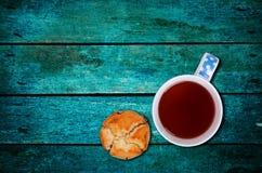 Muffin med teet Arkivfoton