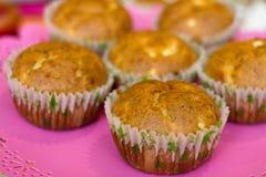 Muffin met kaas Royalty-vrije Stock Foto's