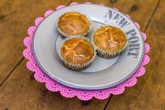 Muffin met kaas Royalty-vrije Stock Afbeelding