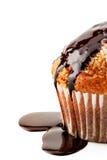 Muffin mit flüssiger Schokolade Lizenzfreie Stockfotografie