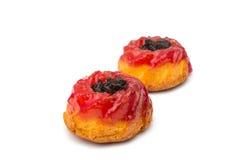 Muffin mit Stau lizenzfreie stockbilder