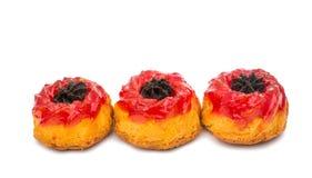 Muffin mit Stau stockfotos