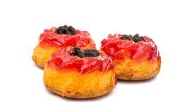 Muffin mit Stau lizenzfreie stockfotografie