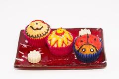 Muffin och choklader Royaltyfri Bild