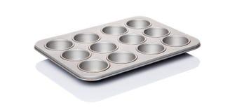 Muffin- och muffinpanna VI Arkivbilder