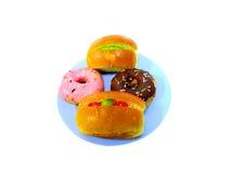 Muffin op geïsoleerd royalty-vrije stock fotografie