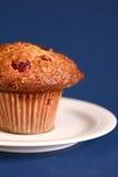 muffin owsa żurawina fotografia royalty free