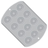 Muffin Pan Royalty Free Stock Photos