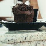 Muffin per presidente Fotografia Stock