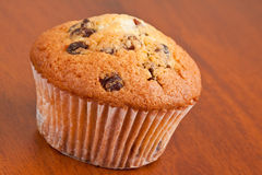 Muffin with raisins Stock Photography