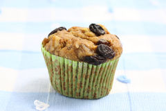 Muffin with raisins Stock Image