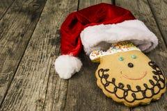 Muffin Santa Claus Arkivbild