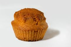 Muffin. Sweet muffin on white background Stock Image