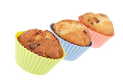 Muffin trio Royalty Free Stock Image