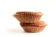 Muffin twee Stock Afbeeldingen
