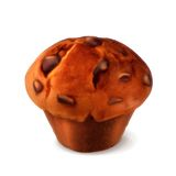 Muffin vector illustration Royalty Free Stock Photo