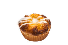 Muffin, white background, isolate Royalty Free Stock Image