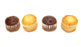 Muffin in a white background Royalty Free Stock Image