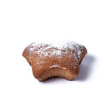 Muffin on a white background. Tasty muffin Stock Photos