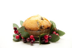 Muffin in the wreath Royalty Free Stock Photography