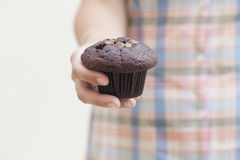 Muffin for you Royalty Free Stock Photos