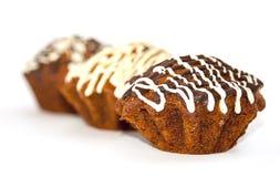 Muffinchoklad Fotografering för Bildbyråer