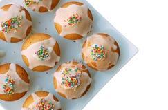 muffindeltagare Arkivfoton